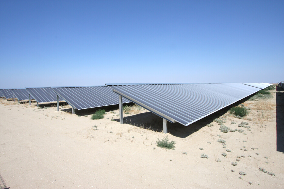 livermore california solar ground mounts