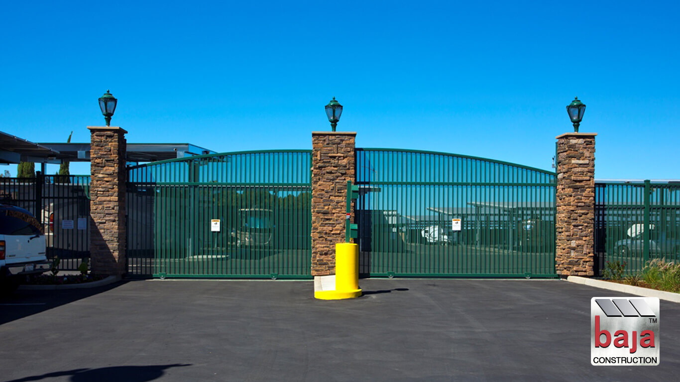 secure gate gives tenants 24 hour access at oakley rv and boat storage