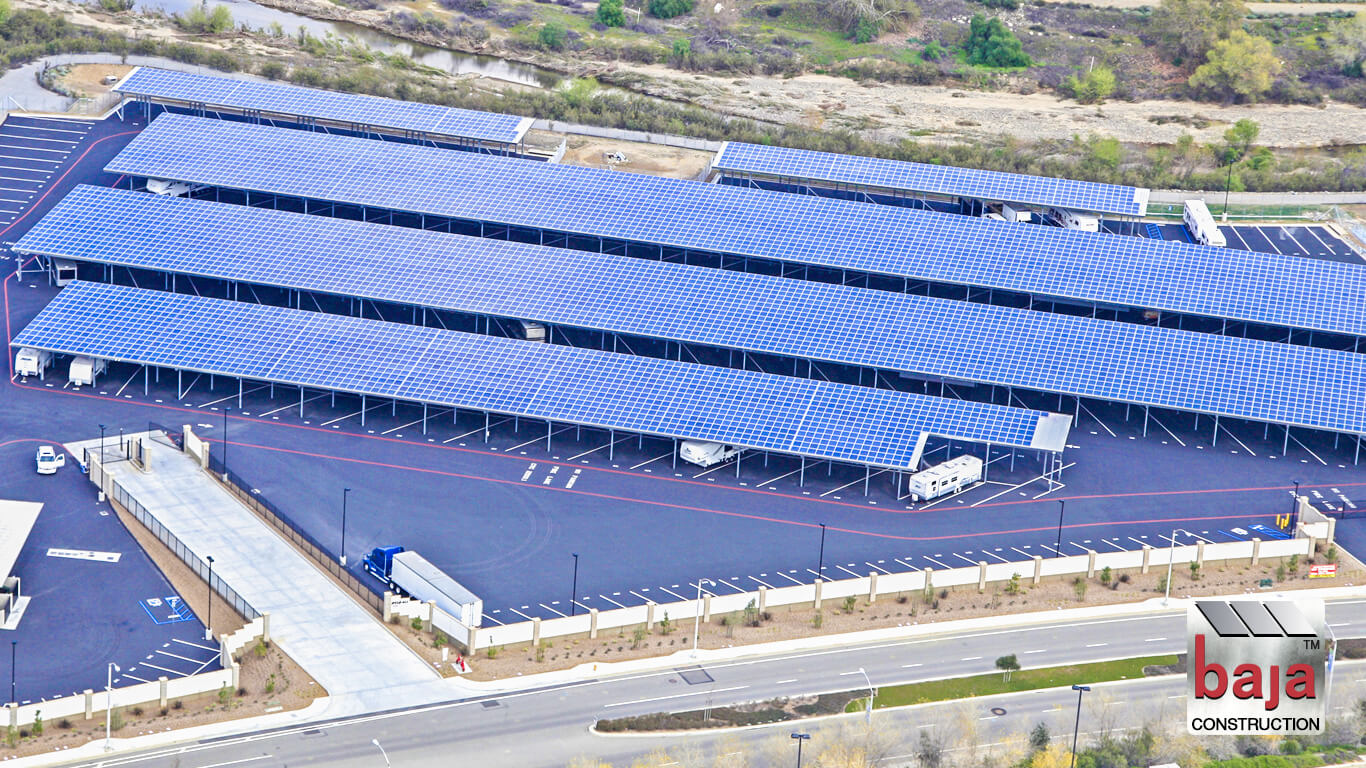 solar covered rv and boat storage in temescal canyon corona ca