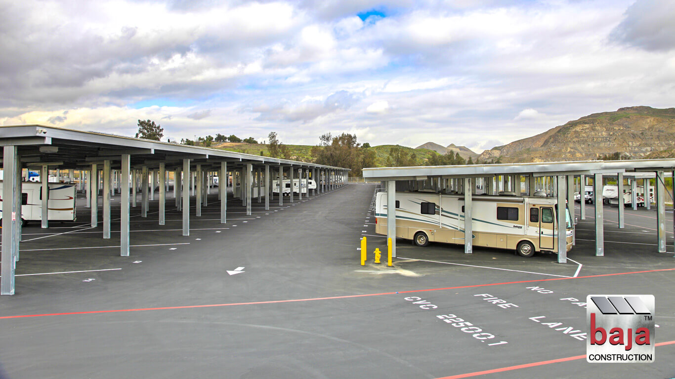 rv boat owners utilize temescal canyon solar rv and boat storage facility