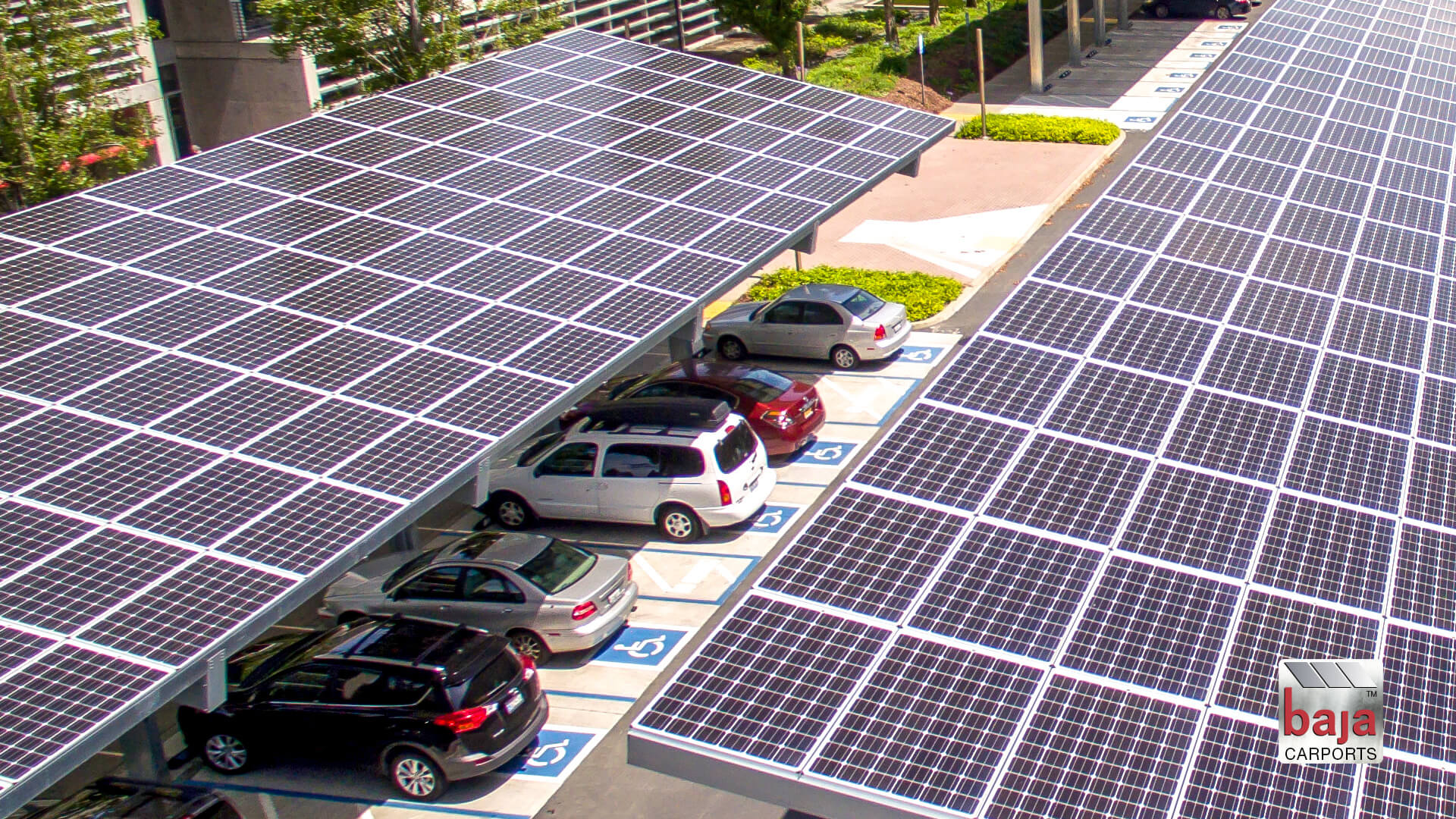 featured timelapse captures installation of solar carports