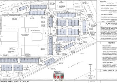 Comprehensive Blood and Cancer Center Solar Canopy Panels Installation Plans