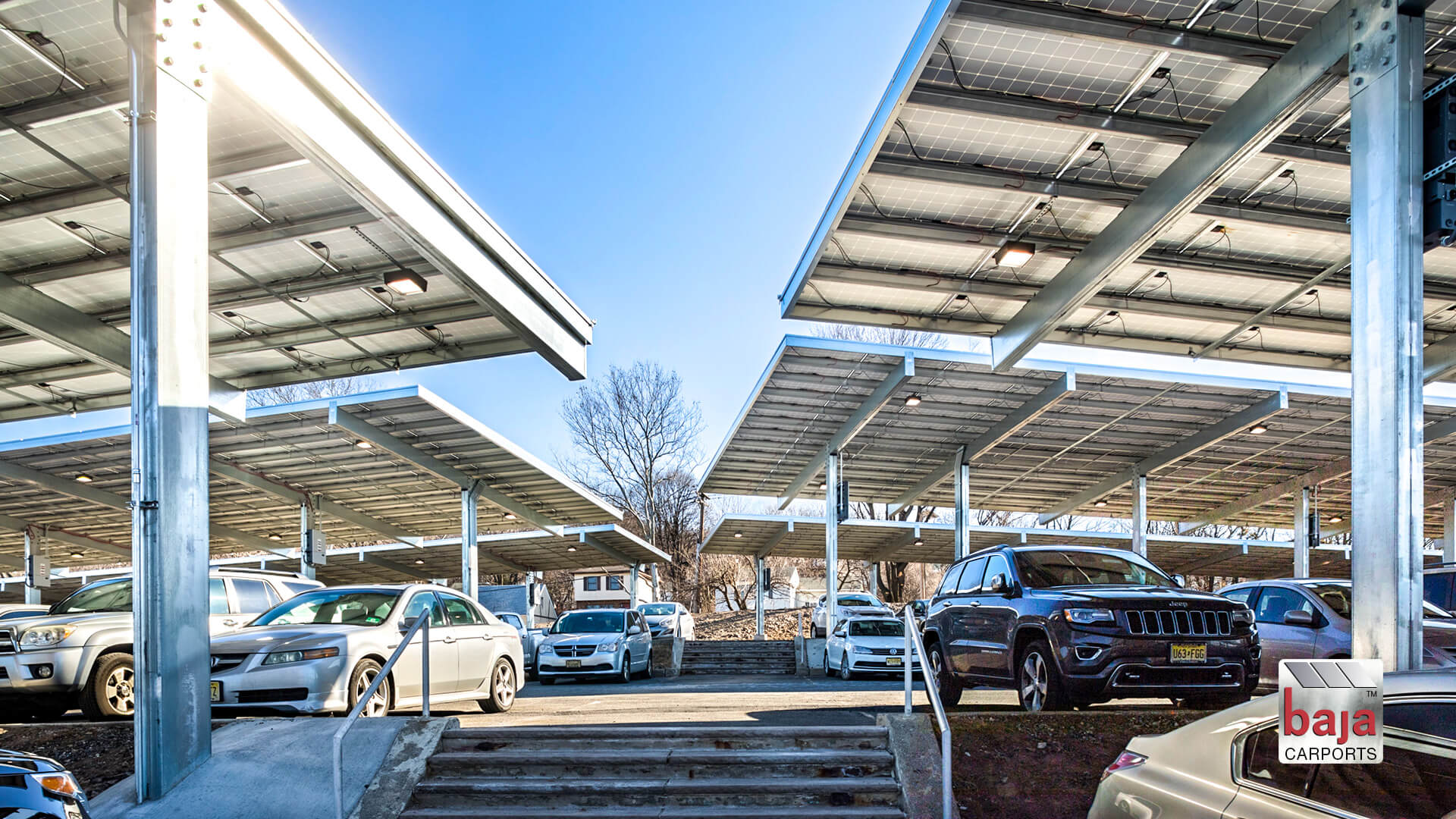 corporations like this in new jersey are installing solar carports