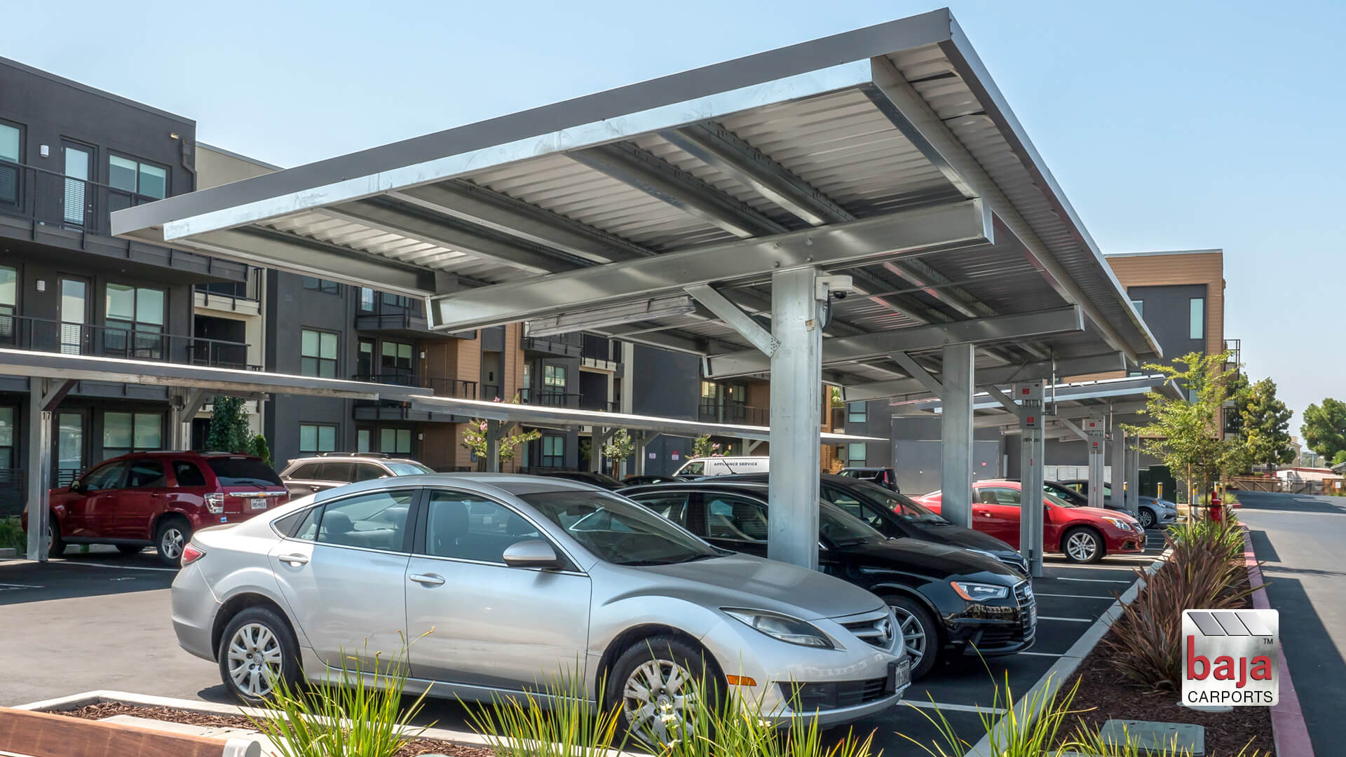 multi family affordable housing solar carports installed at hamilton apartments in menlo park ca