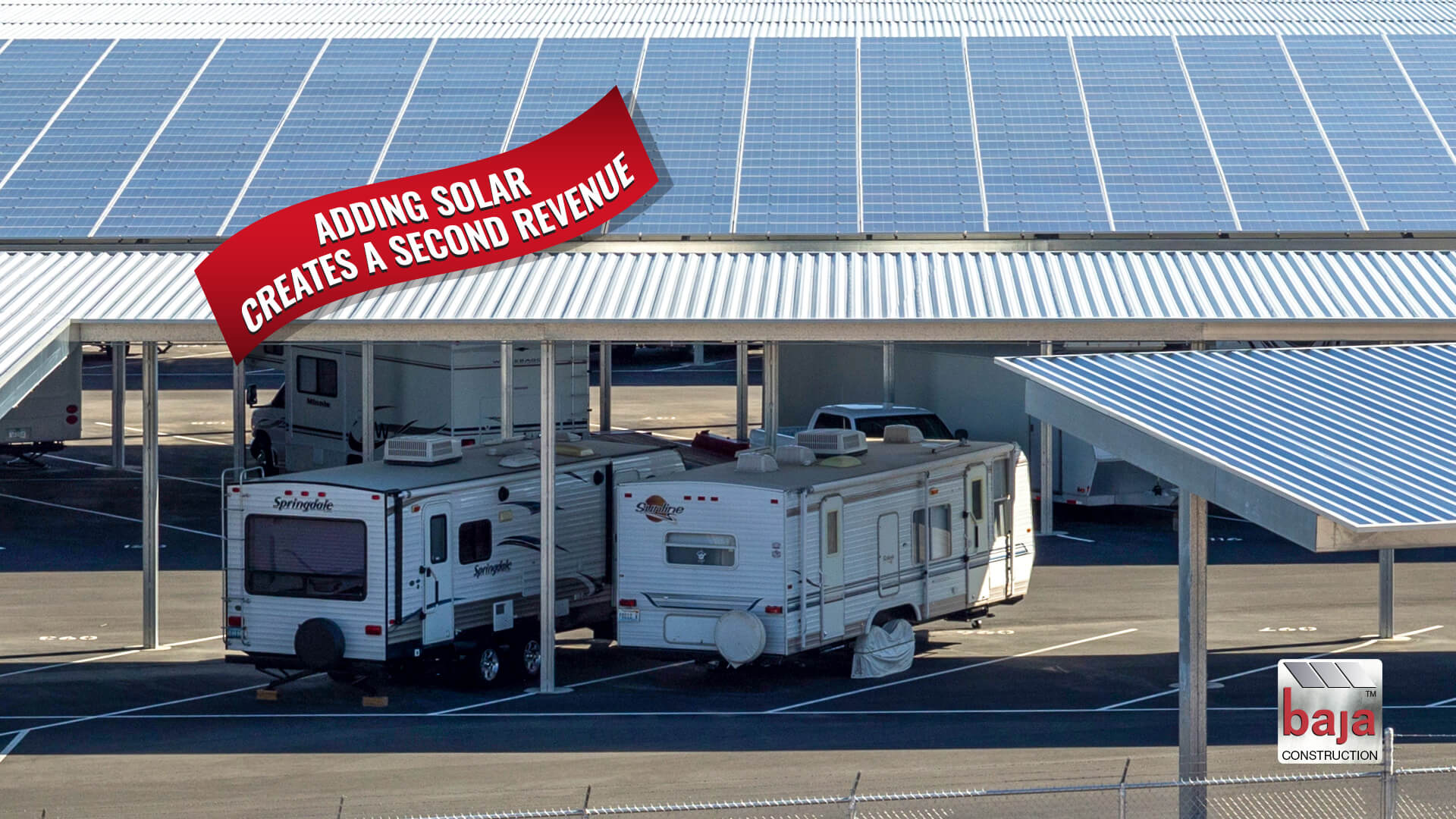 love's storage solutions receives second revenue from solar covered rv canopies