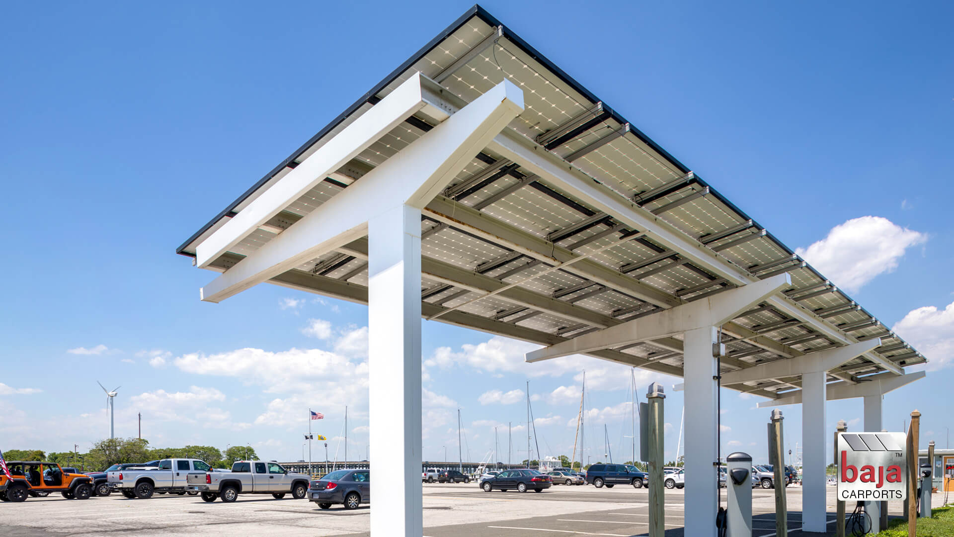 town of hempstead marina parks under solar carports