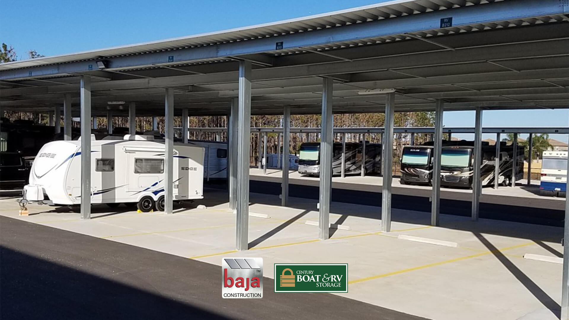 standard shade canopies increase rv storage retention