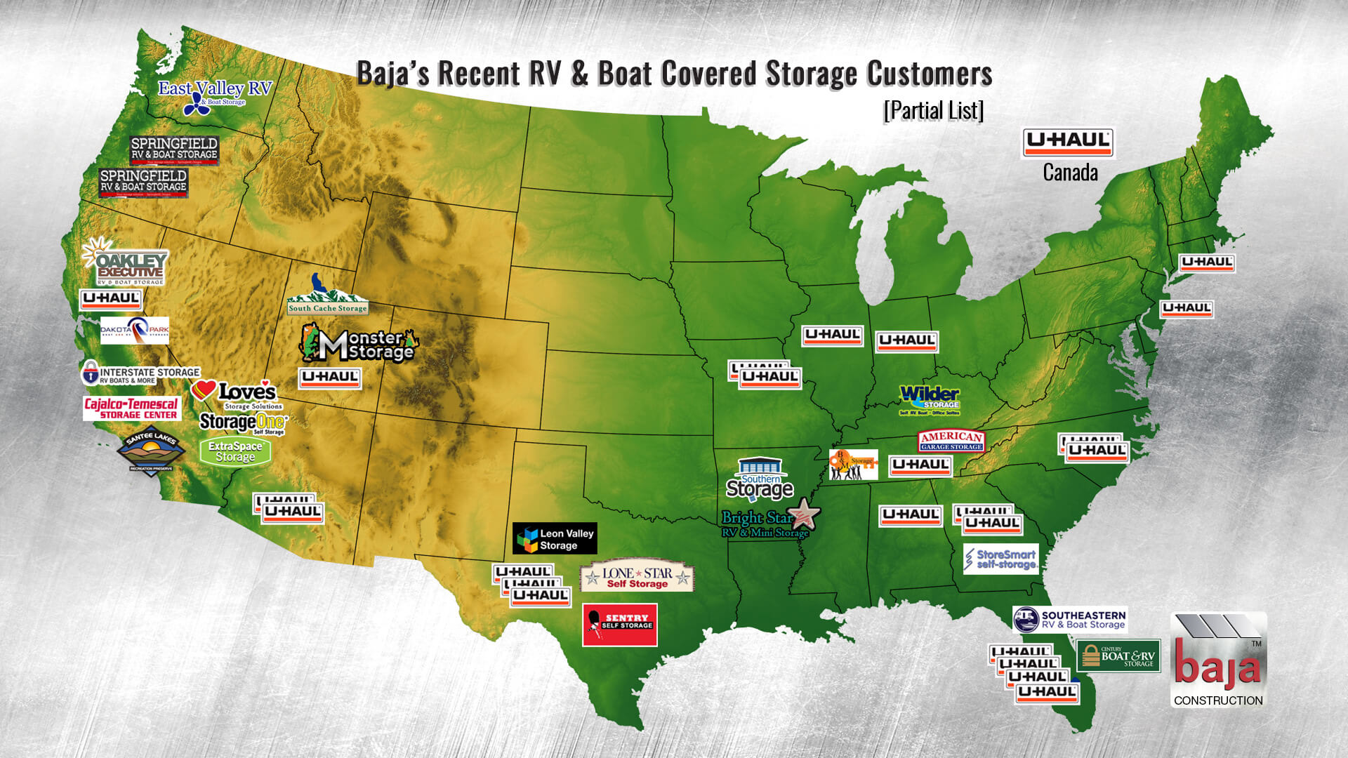 there is a shortage of covered rv and boat business nationwide