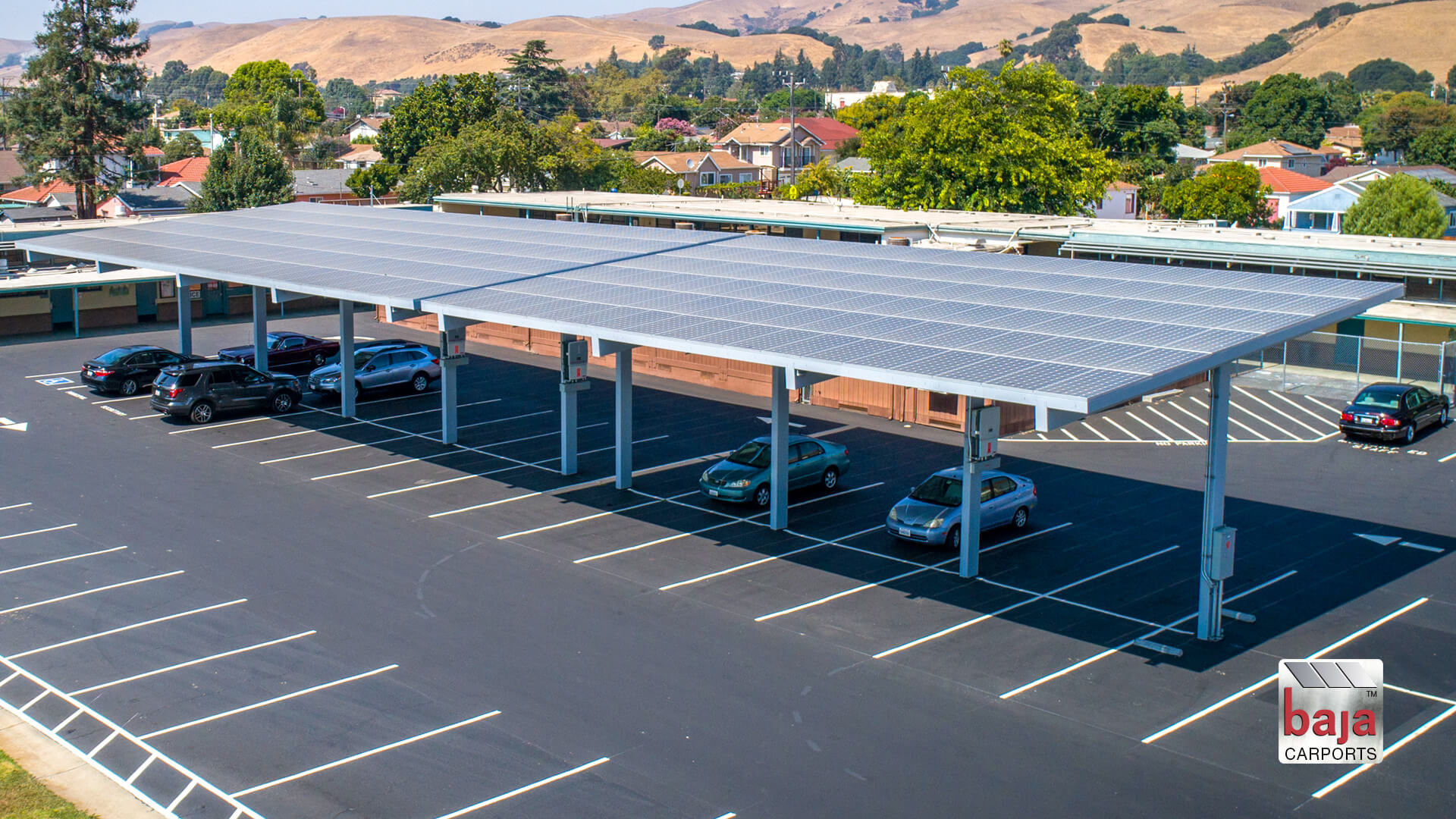 parking just went solar at decoto adult education in union city ca