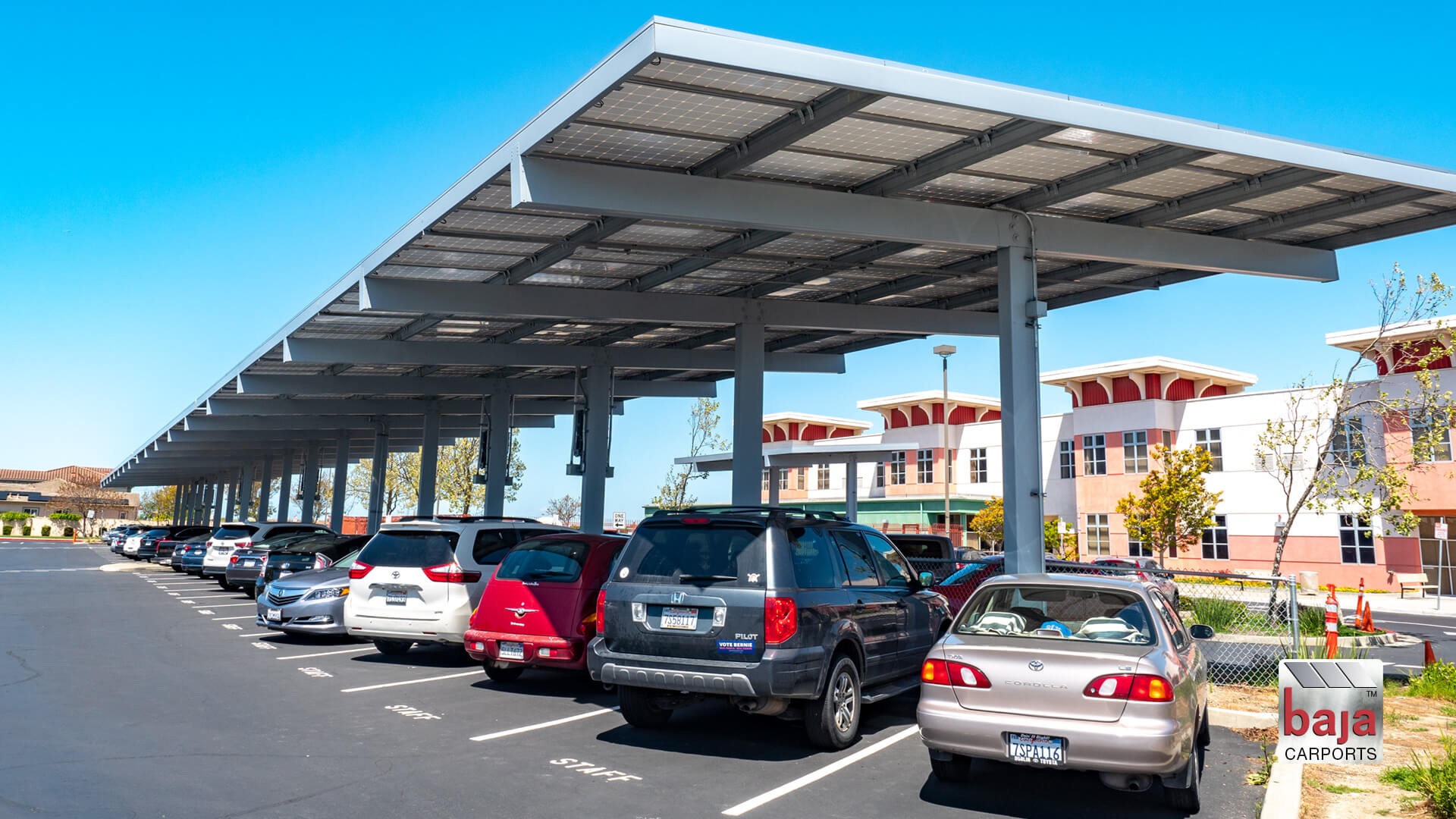 solar carports help delaine elementary power their school