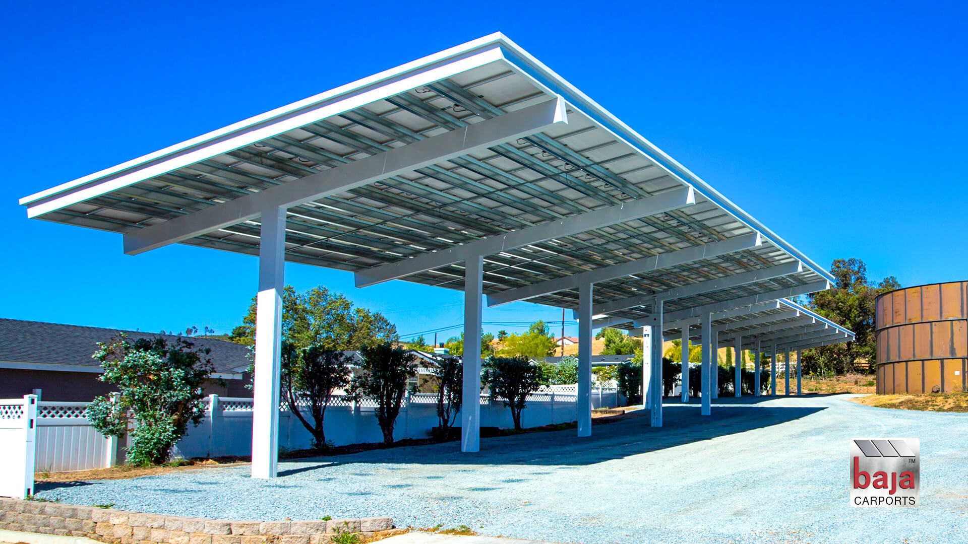 solar canopy coverage made for farm tractors