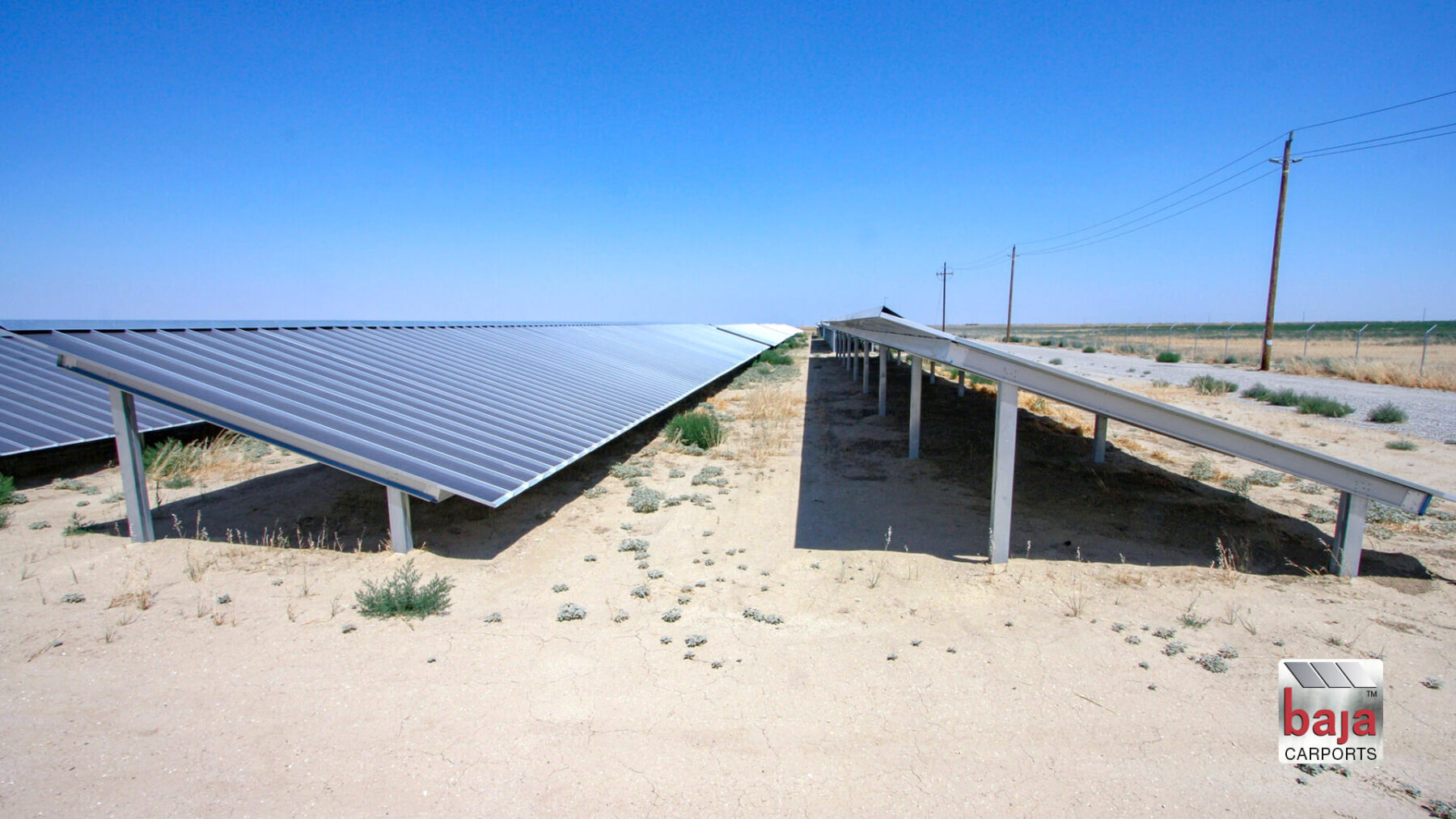 solar ground mount racking system at livermore california