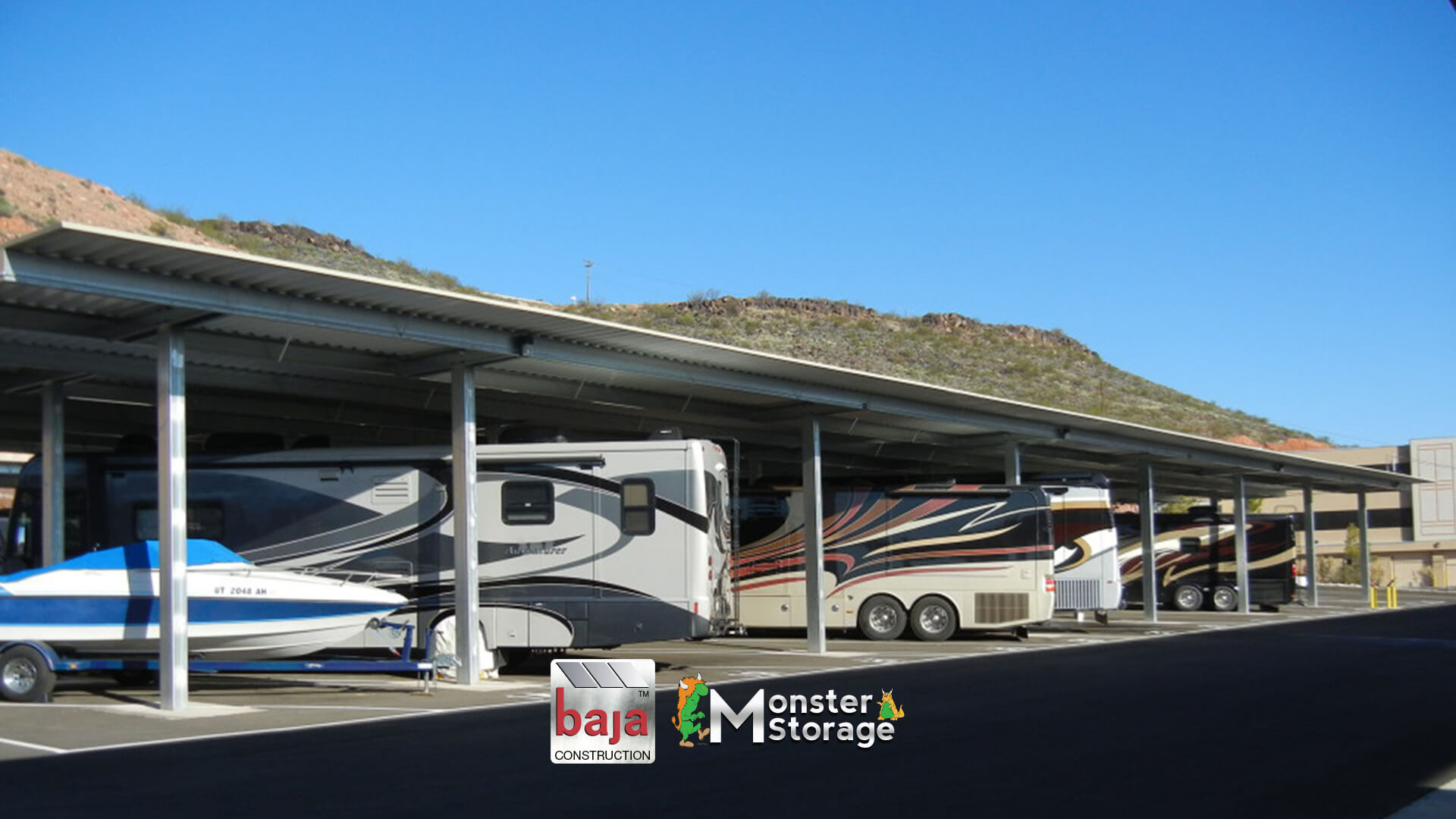 monster storage in st george ut offers covered rv parking