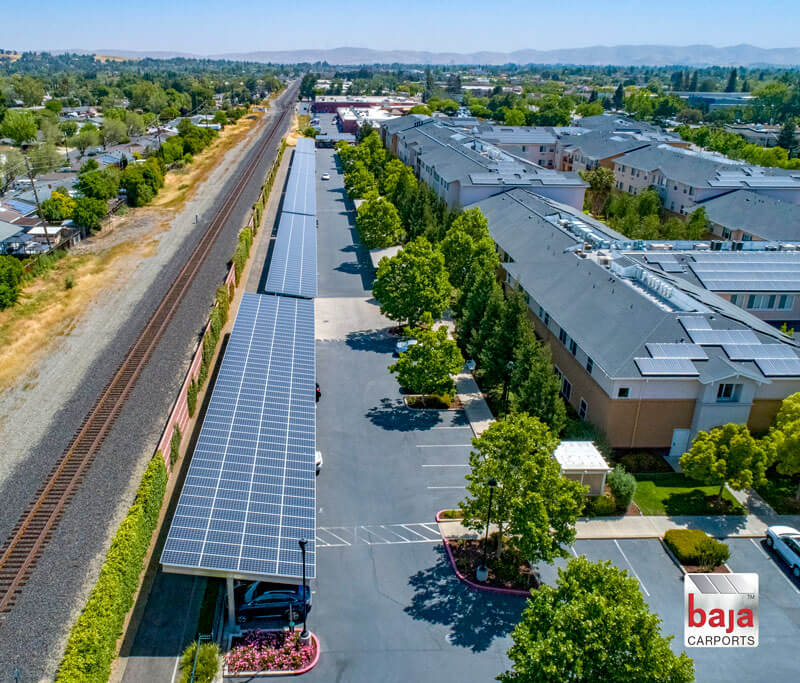 Powering Title 24 Solar Support Systems on multifamily apartment in California