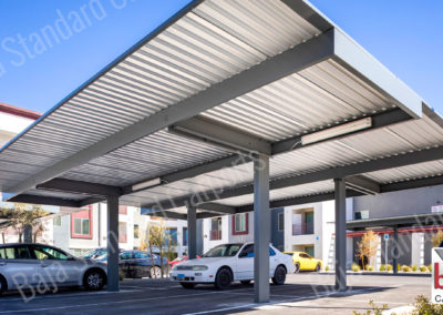 Solar Ready carport by Baja Carports for apartments in Vegas, Nevada