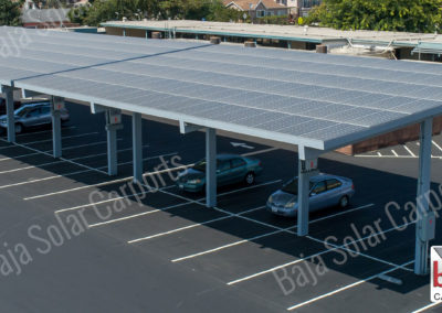 DSA solar carports cover Union City, California installed by Baja Carports
