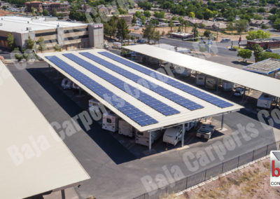 Solar carports help Monster Garage in Utah with their power bill
