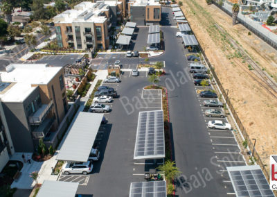 Solar carports and standard carports meet Title 24 Mandate in California